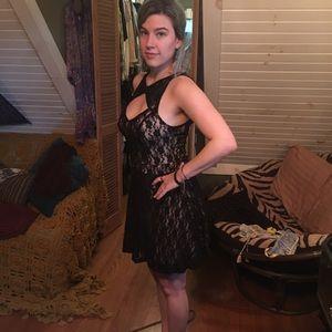 Dresses & Skirts - Lace Mini Dress